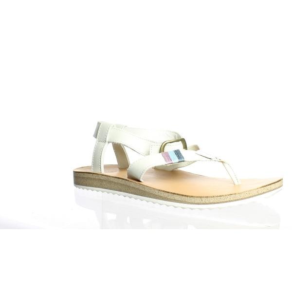 Teva Womens Original White Sandals Size