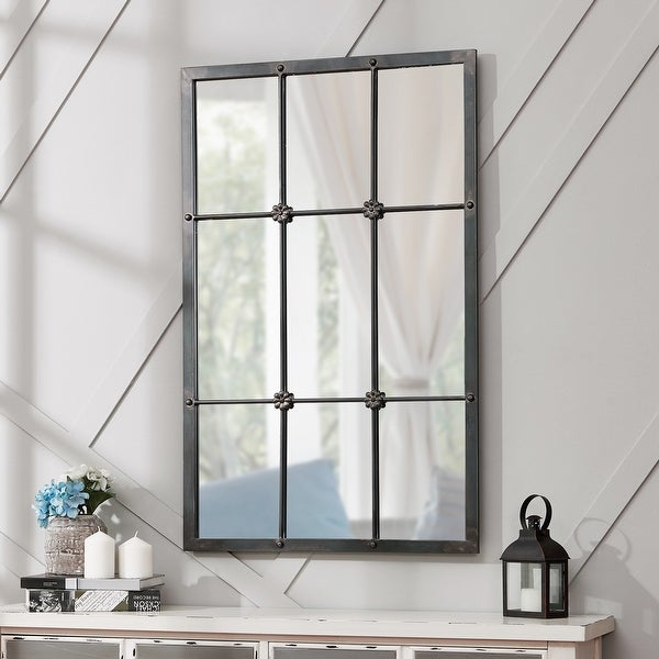 FirsTime & Co.® Homestead Manor Window Mirror, Metal, 24 x 1 x 38 in, American Designed - 24 x 1 x 38 in. Opens flyout.