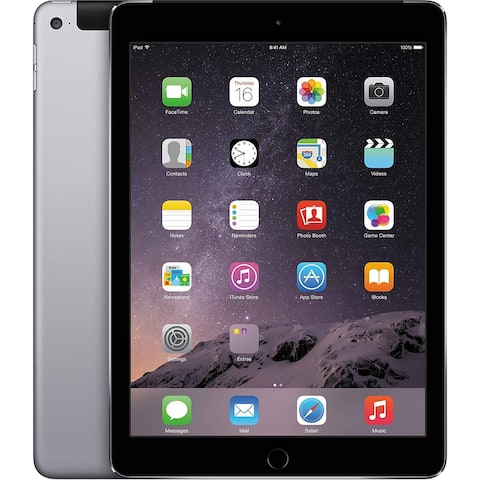 iPad Air 2 64Gb WiFi & Cellular Space Gray Fully Unlocked Refurbished