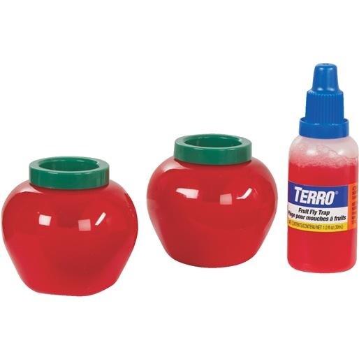 Shop Woodstream 2Pk Terro Fruit Fly Trap T2502 Unit: EACH ...