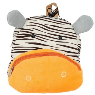 2 Moda Toddler Animal Face Backpack with Front Pocket - One size