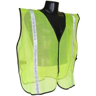 "Radians SVG1 Non Rated Safety Vest With 1"" Tape, 2X/5X"