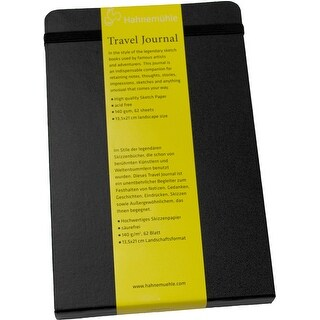 Hahnemuhle Travel Journal (5.3 x 8.3 inch Portrait, 62 Sheets)