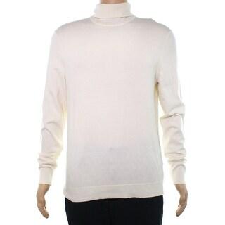 Alfani Mens Medium Long Sleeve Turtleneck Sweater