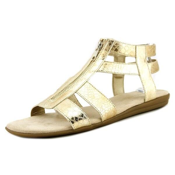 Aerosoles Encychlopedia Gold Snake Sandals