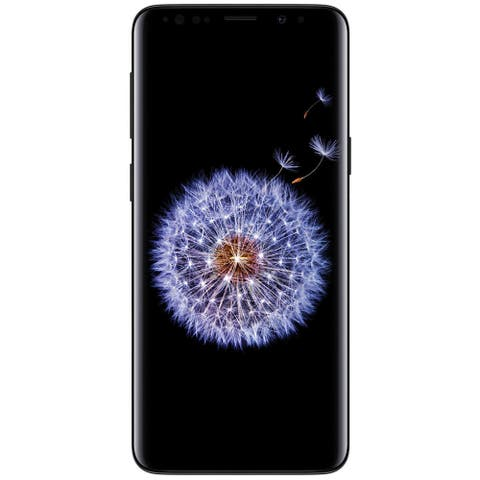 Samsung Galaxy S9 G960U 64GB Unlocked GSM 4G LTE Phone w/ 12MP Camera - Midnight Black (Used) - Midnight Black