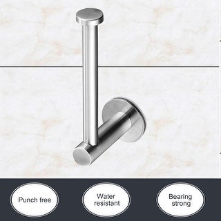 Link to Toilet Paper Holder Wall Mount Self-stick Stainless Steel Paper Roll Similar Items in Toilet Paper Holders