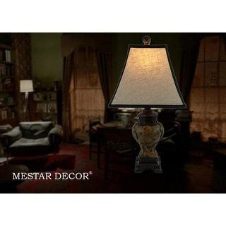 """21"""" Vintage Art Table Lamp"""