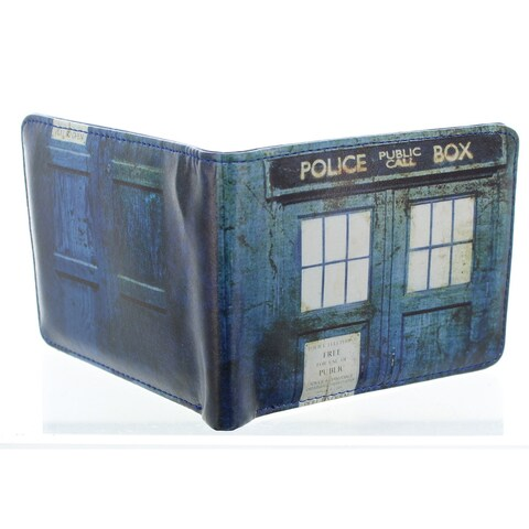 Doctor Who Distressed TARDIS Bi-Fold Wallet - Multi