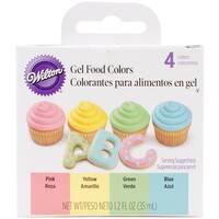 Gel Icing Color Set 3Oz 4/Pkg-
