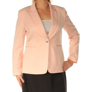 Womens Pink Wear To Work Suit Jacket Size 12