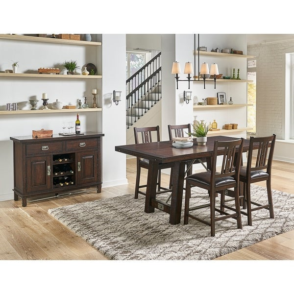 Simply Solid Solana Solid Wood 5-piece Dining Collection. Opens flyout.