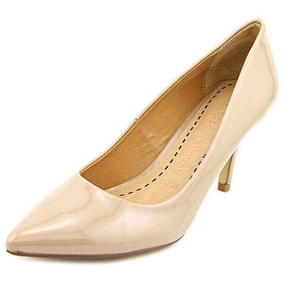 Chinese Laundry Olivia Women Pointed Toe Synthetic Nude Heels