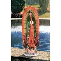 Design Toscano The Virgin of Guadalupe Religious Statue: Medium