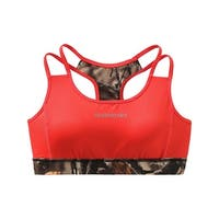 Legendary Whitetails Ladies Camo Stadium Reversible Sports Bra