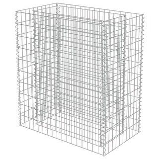 "vidaXL Gabion Planter Galvanized Steel 35.4""x19.7""x39.4"""