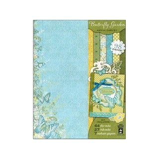 HOTP Artful Card Kit Butterfly Garden