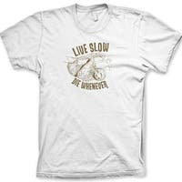 Live Slow Die Whenever t-shirt lazy sloth tee cute animal shirt