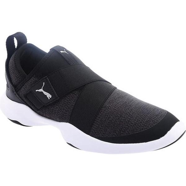 puma black trainers sports direct