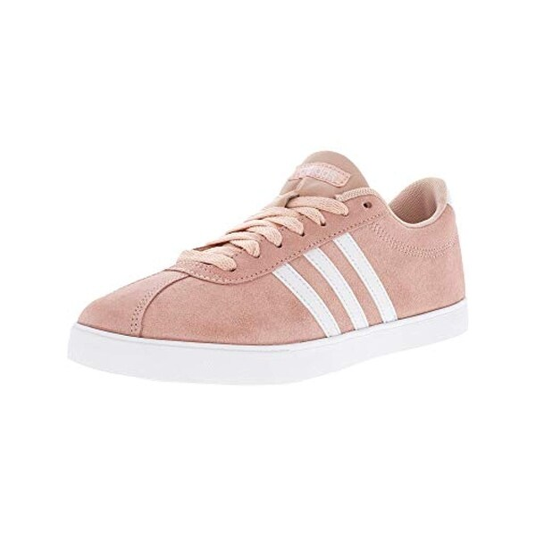 sneakers for cheap 86fc4 b0174 Shop Adidas Womens Courtset Low Top Lace Up Fashion Sneakers, Pink, Size 7.5  - Free Shipping Today - Overstock.com - 27121086