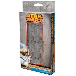 Star Wars Carbonite Han Solo Ice Cube Tray - multi