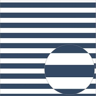 "Bazzill Printed Acetate Stripes Sheets 12""X12""-Admiral"
