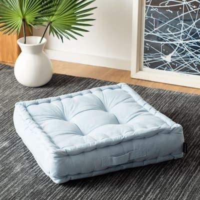 SAFAVIEH Primrose Square Tufted Velvet Floor Pillow