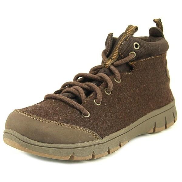 Easy Street Lyla Brn Fln/Dk Brn Boots
