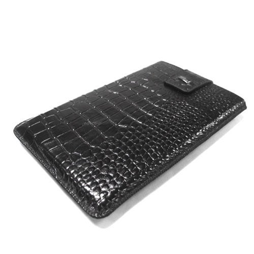 JAVOedge Croc Sleeve Case for Amazon Kindle 2 (Black) - Black