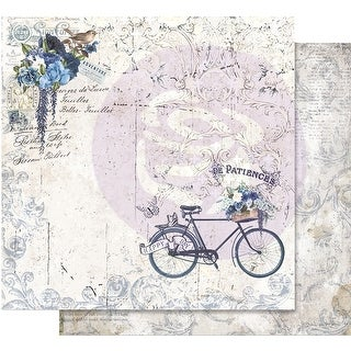 """Georgia Blues Foiled Double-Sided Cardstock 12""""X12""""-Happy Days"""