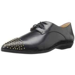 FIEL Womens Adams Studded Pointed Toe Oxfords