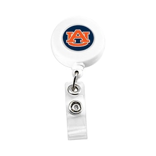 Auburn Tigers Retractable Badge Reel Id Ticket Clip