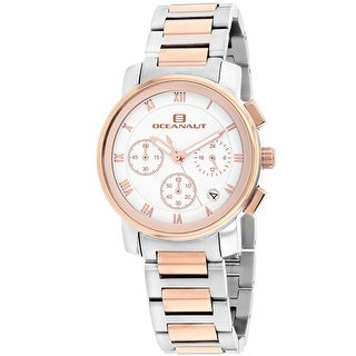 Oceanaut Women's Riviera OC0637 White Dial watch