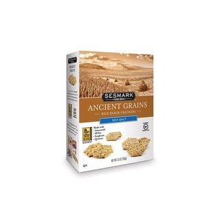 Sesmark Foods - Ancient Grains Sea Salt Crackers ( 6 - 3.5 OZ)