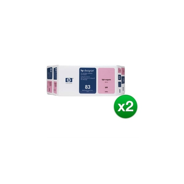 HP 83 Ink Cartridge - Light Magenta (C5005A) (2-Pack)