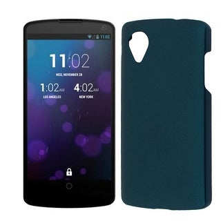 Unique Bargains Green Hard Bumper Back Case Cover Protector for LG Google Nexus 5