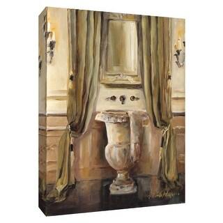"PTM Images 9-154825  PTM Canvas Collection 10"" x 8"" - ""Classical Bath IV"" Giclee Bathroom Art Print on Canvas"