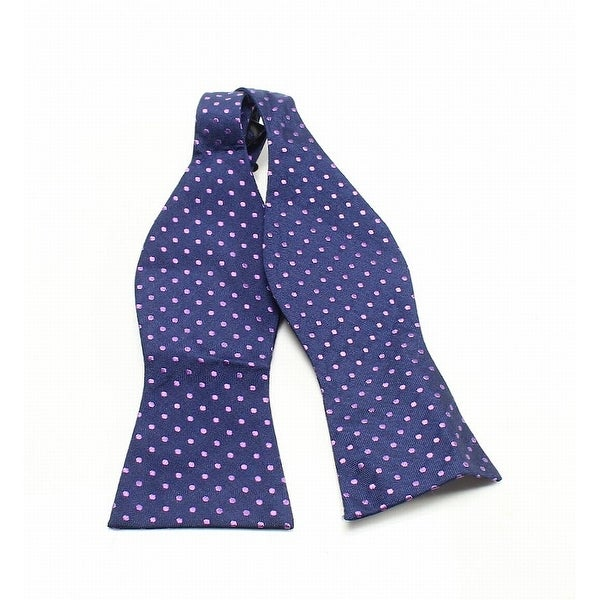 220533437 Shop Tommy Hilfiger Oxford Dot To-Tie Silk Woven Knit Bow Tie - On Sale -  Free Shipping On Orders Over $45 - Overstock - 26927170