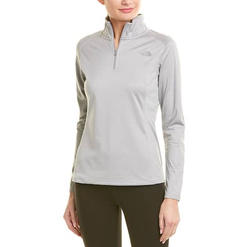 The North Face Tech Glacier 1/4-Zip Pullover - DYX Light Grey Heather