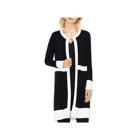 Vince Camuto Womens Cardigan Sweater Long Sleeve Open Front