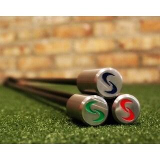 SuperSpeed Golf Mens Golf Swing Training System 3 Pc Club Set with Swing Radar
