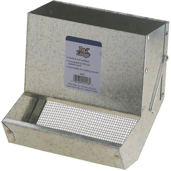 """Pet Lodge AF7S Feeder With Sifter Bottom Without Lid 7/"""""""
