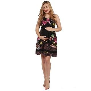 24seven Comfort Apparel Kelly Maternity Dress