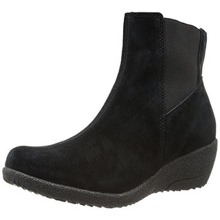 Propet Womens Gwen Booties Suede Wedes