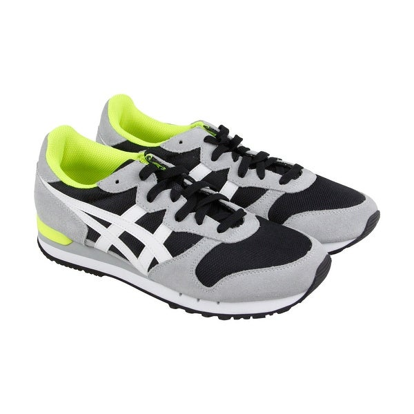 Shop Onitsuka Tiger Alvarado Mens Black Suede Athletic Lace Up Running  Shoes - Free Shipping Today - Overstock - 18284536 d9a0ce4bf690