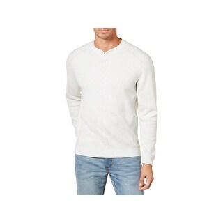 Tommy Bahama Mens Flip Side Abaco Sweatshirt Reversible Long Sleeve