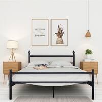 Shop Vecelo Platform Bed Frame Queen Full Twin Size Metal Beds Box