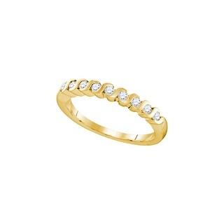1/4Ctw Diamond Fashion Ring - White