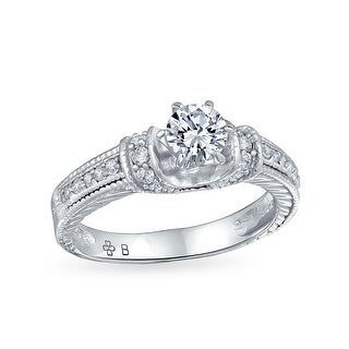 Link to 1CT Solitaire U set 6 Prong AAA CZ Engagement Ring 925 Sterling Silver Similar Items in Rings