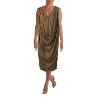 Alexander McQueen Womens Cashmere Sleeveless Sweaterdress - M